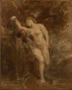 Henri-Théodore FANTIN-LATOUR, La Source