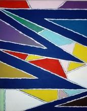 "Piero DORAZIO - Peinture - ""COR""III"
