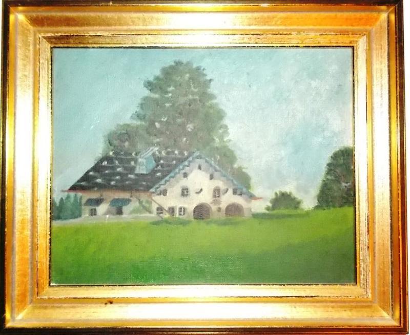 Charles-Albert HUGUENIN - Peinture - CHALET SUISSE
