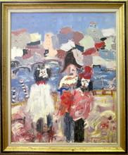 Jean SARDI - Peinture - Carnaval de Venise