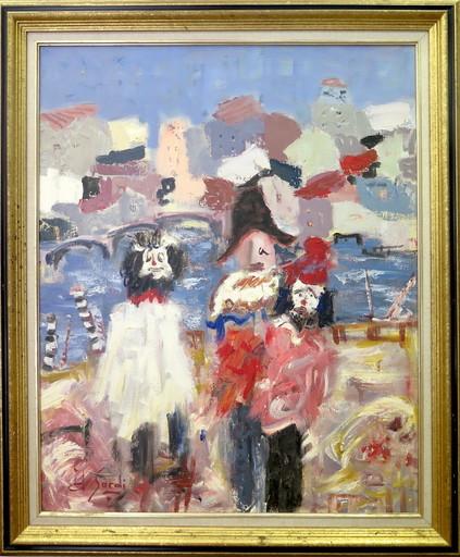 Jean SARDI - Painting - Carnaval de Venise