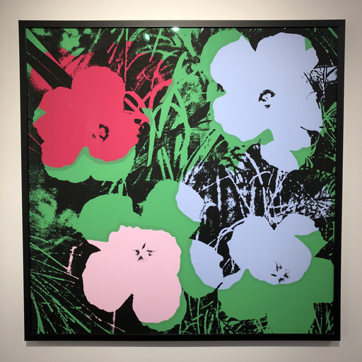 Andy WARHOL - Stampa-Multiplo - Flowers portfolio complet