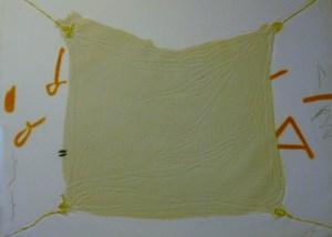 Antoni TAPIES - Radierung Multiple - Mocador lligat