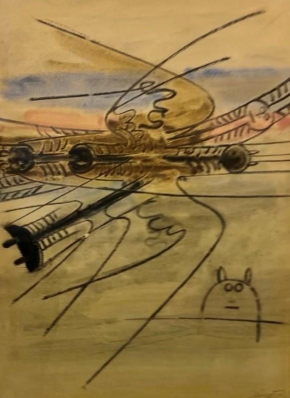 Wifredo LAM - Pintura - Composizione