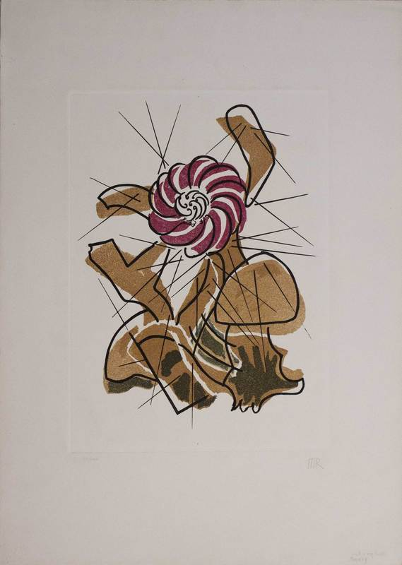 MAN RAY - Druckgrafik-Multiple - Cactus danzante