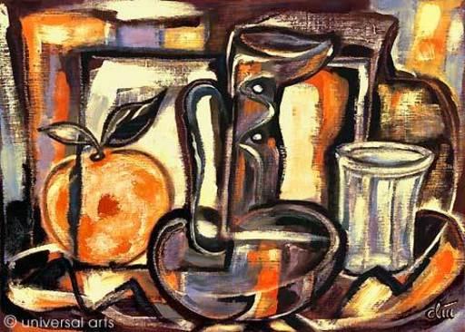 Jacqueline DITT - Peinture - O-Saft (O-Juice)