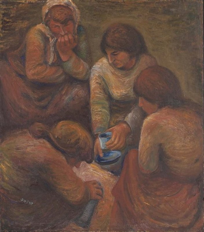 Moshe PROPPES - Pintura - Workers