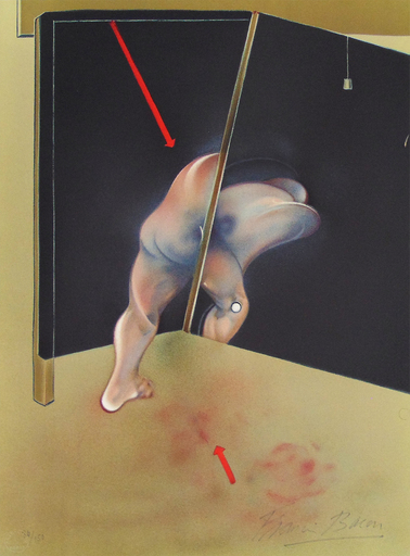Francis BACON - Print-Multiple -  Study from the Human Body