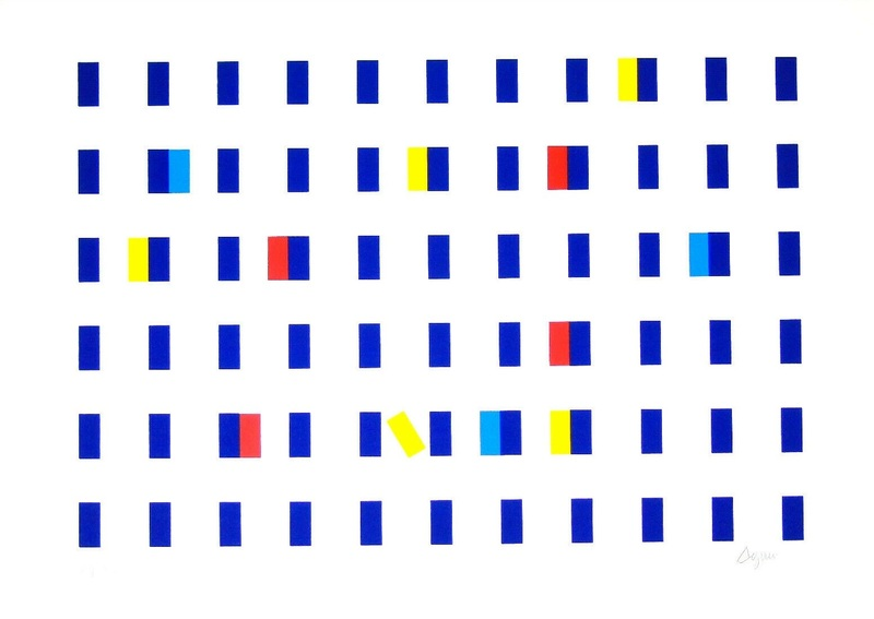 Yaacov AGAM - Stampa-Multiplo - Composition