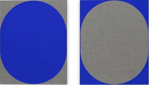 Louise BLYTON - Gemälde - Blue Nesting
