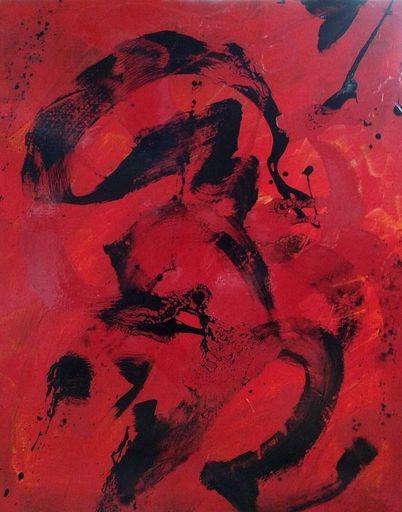 Marie Edmée SEGUIN - Painting - La Nuit Des Temps n70