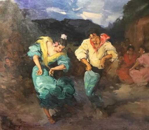 Francisco RODRÍGUEZ CLEMENT - Gemälde