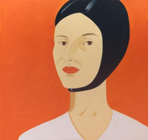 Alex KATZ - Grabado - Ada in Bathing Cap