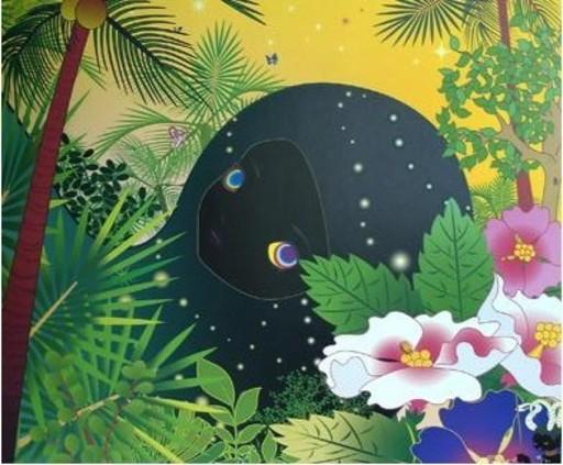 青岛千惠 - 版画 - BUILDINGHEAD : PALM TREES