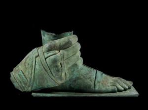 Igor MITORAJ - Sculpture-Volume - Piede con Mano