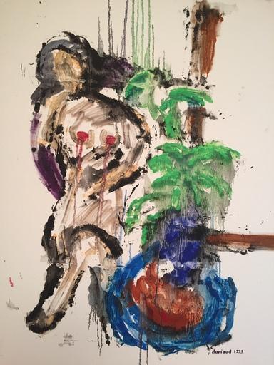 Christian DURIAUD - Pintura - Nu