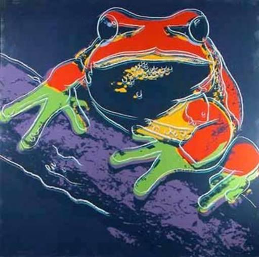 安迪·沃霍尔 - 版画 - Pine Barrens Tree Frog (F&S.II.294)