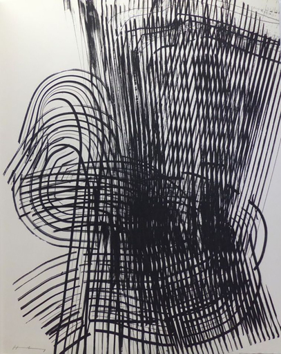 Hans HARTUNG - Grabado - Untitled