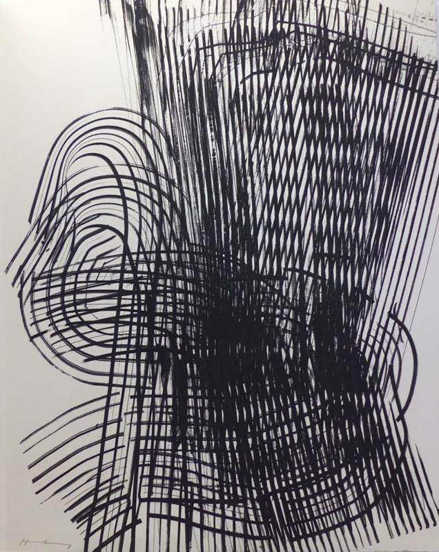 Hans HARTUNG - Druckgrafik-Multiple - Untitled
