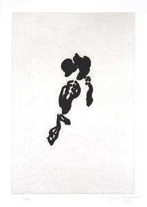 Joan HERNANDEZ PIJUAN - Print-Multiple - Iris Negre II