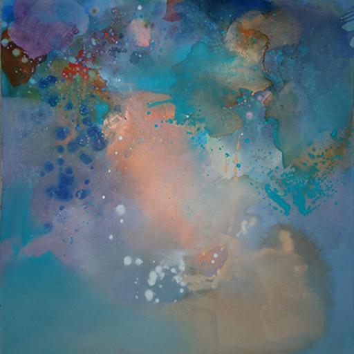 Silvia HORNIG - Painting - odd spacity #17