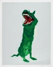 周春芽 - 版画 - Green Dog #2,