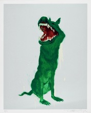 ZHOU Chunya - Print-Multiple - Green Dog #2,