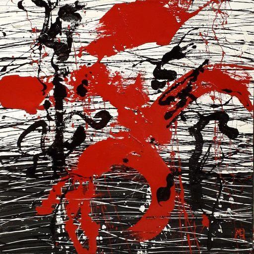 Marie Edmée SEGUIN - Painting - D'où vient le vent n20