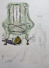 Salvador DALI - Print-Multiple - Imaginations & Objects of The Future Breathing Pneumatic Arm
