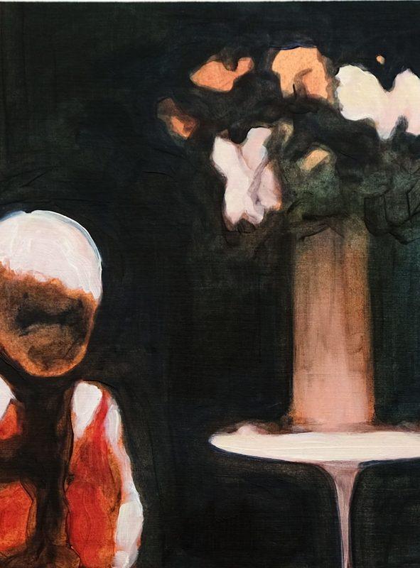 Clémence ARNOLD - Drawing-Watercolor - « Vase V »