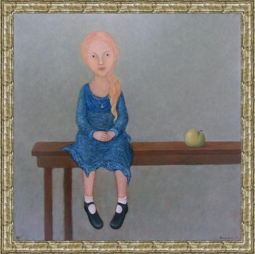 Roman ANTONOV - 绘画 - With the apple
