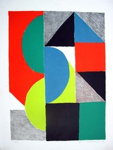 Sonia DELAUNAY-TERK - Estampe-Multiple - Venise