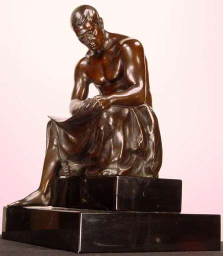 Gerhard SCHLIEPSTEIN - 雕塑 - Architect