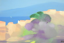 Freddy DEFOSSEZ - Painting - Golfe de Saint Tropez