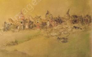 Abel Pfeffermann PANN - Drawing-Watercolor - Convey