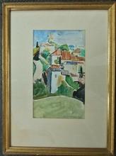 François DESNOYER (1894-1972) - Vue de village