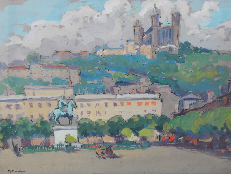 Marguerite MOURIER - Drawing-Watercolor - Lyon