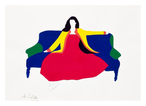 Marco LODOLA - Painting - Sofà