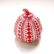 Yayoi KUSAMA - Sculpture-Volume - Pumpkin (Red/White)