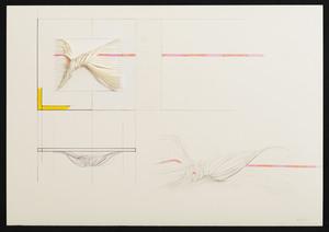 Agostino BONALUMI - Drawing-Watercolor - Progetto