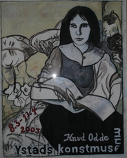 Knud ODDE SÖRENSEN - Pintura - Grete Trakl