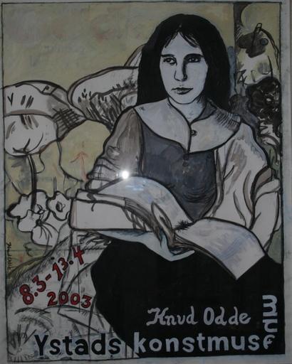 Knud ODDE SÖRENSEN - Peinture - Grete Trakl