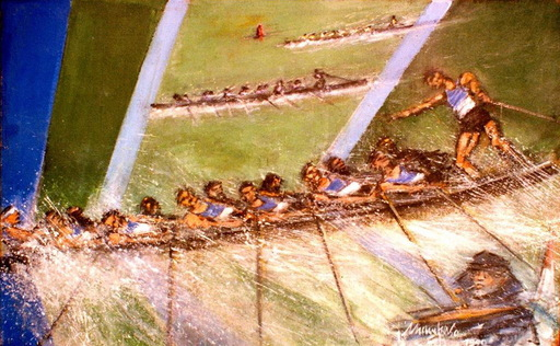 Manuel MAMPASO BUENO - Pintura - Perillo campeón de España