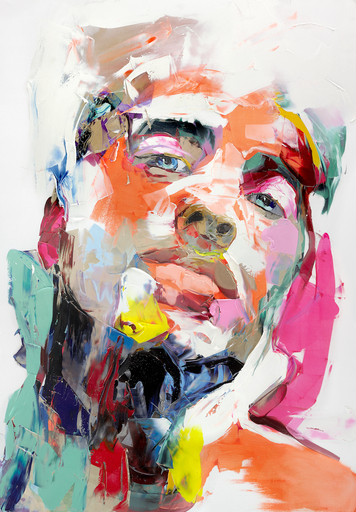 """Françoise NIELLY - Painting - """"C"""""""