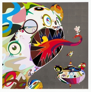 Takashi MURAKAMI, Homage to Francis Bacon (Study of George Dyer)