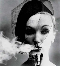 William KLEIN - Photography - Smoke and Veil, Paris (for Vogue)