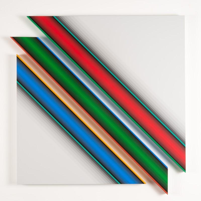 Dario PEREZ FLORES - Painting - Dynamique chromatique 570