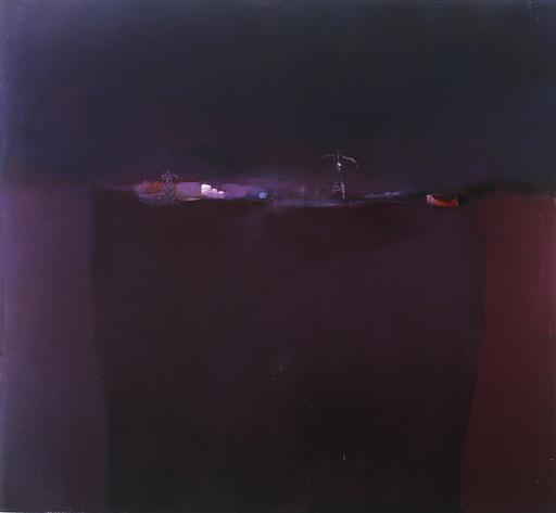 Klaus Karl MEHRKENS - Painting - Nachtstuch
