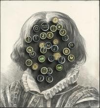 Bruno MALLART - Disegno Acquarello - Police de la pensée I