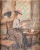Isaac Lazarus ISRAELS - Drawing-Watercolor - Sin titulo